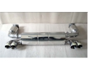 996 Turbo - GT2 sports exhaust with sports cats for Porsche 911