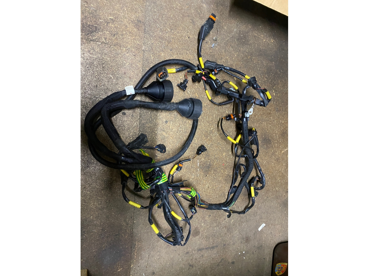 996 GT3 Cup wiring harness engine cable engine cable Porsche 911