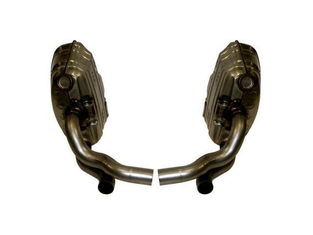 997.1 Porsche Carrera Sport Exhaust OEM Style Stainless Steel until year 2008