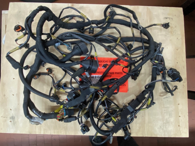 991 GT3 Cup wiring harness engine Porsche racing car Gen.1