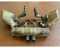 997 GT3 Cup exhaust system with side mufflers Kat exhaust manifold Porsche