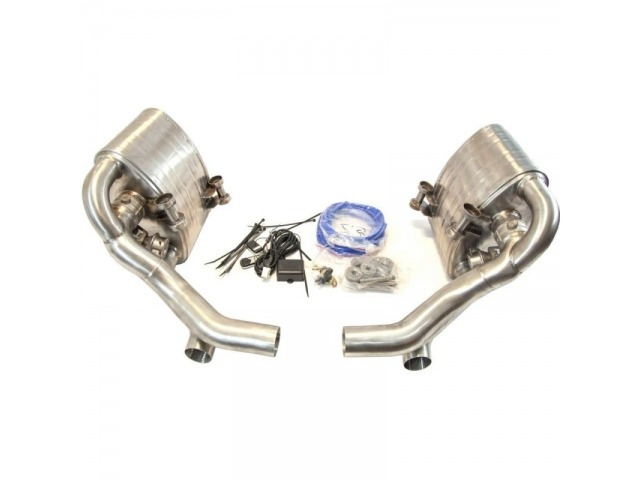 997.2 Carrera Porsche flap exhaust stainless steel flap system