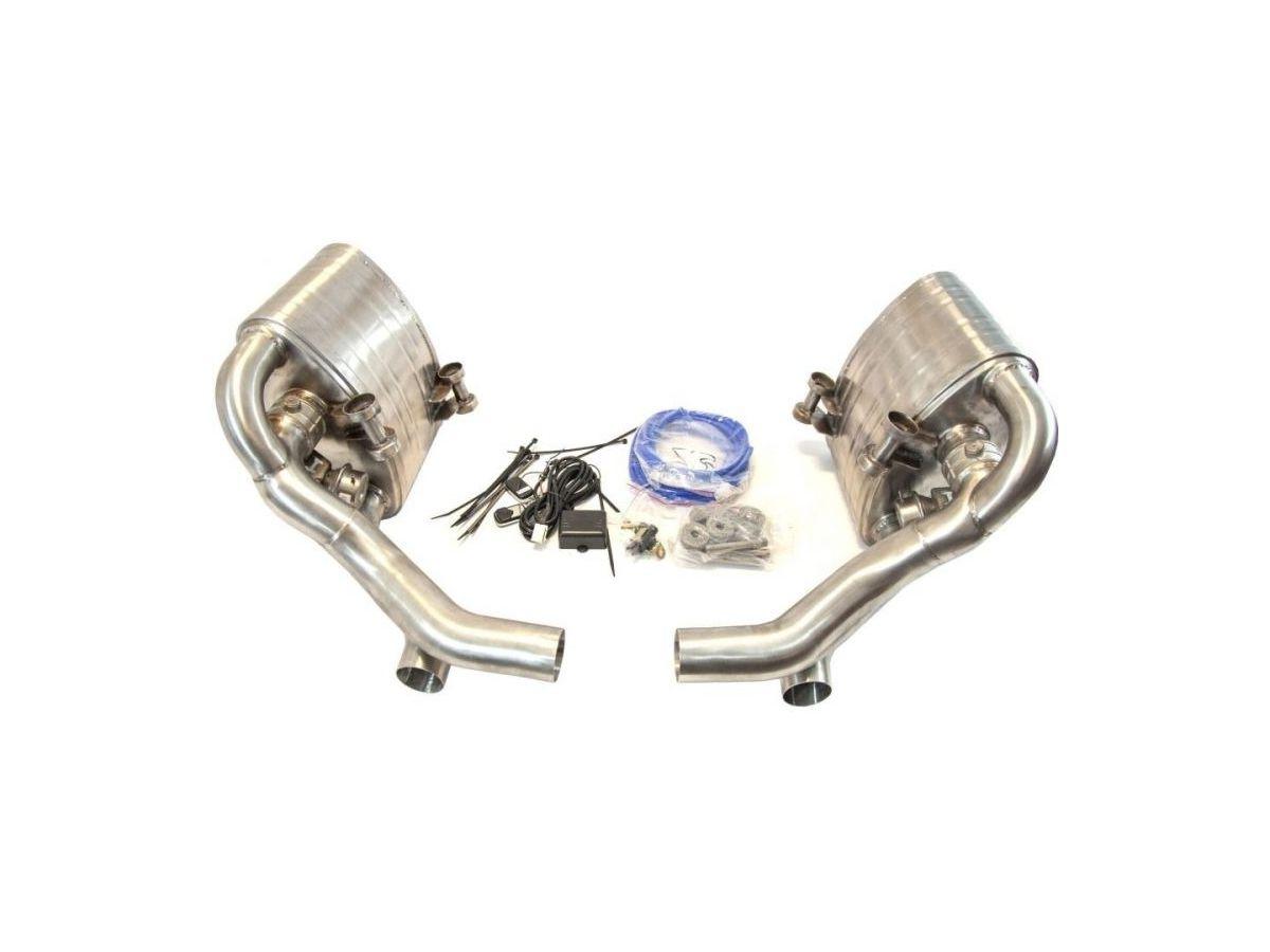 997.2 Carrera Porsche flap exhaust stainless steel flap system