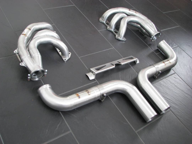 991 GT3 Supercup racing exhaust stainless steel for Porsche 911 racing cars