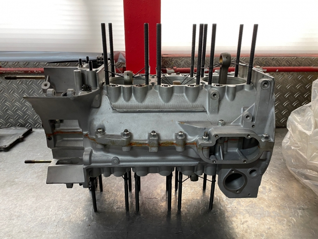 993 Motorgehäuse , Kurbelwelle, Pleuel, Ölpumpe, Ketten, Zwischenwelle Porsche 911