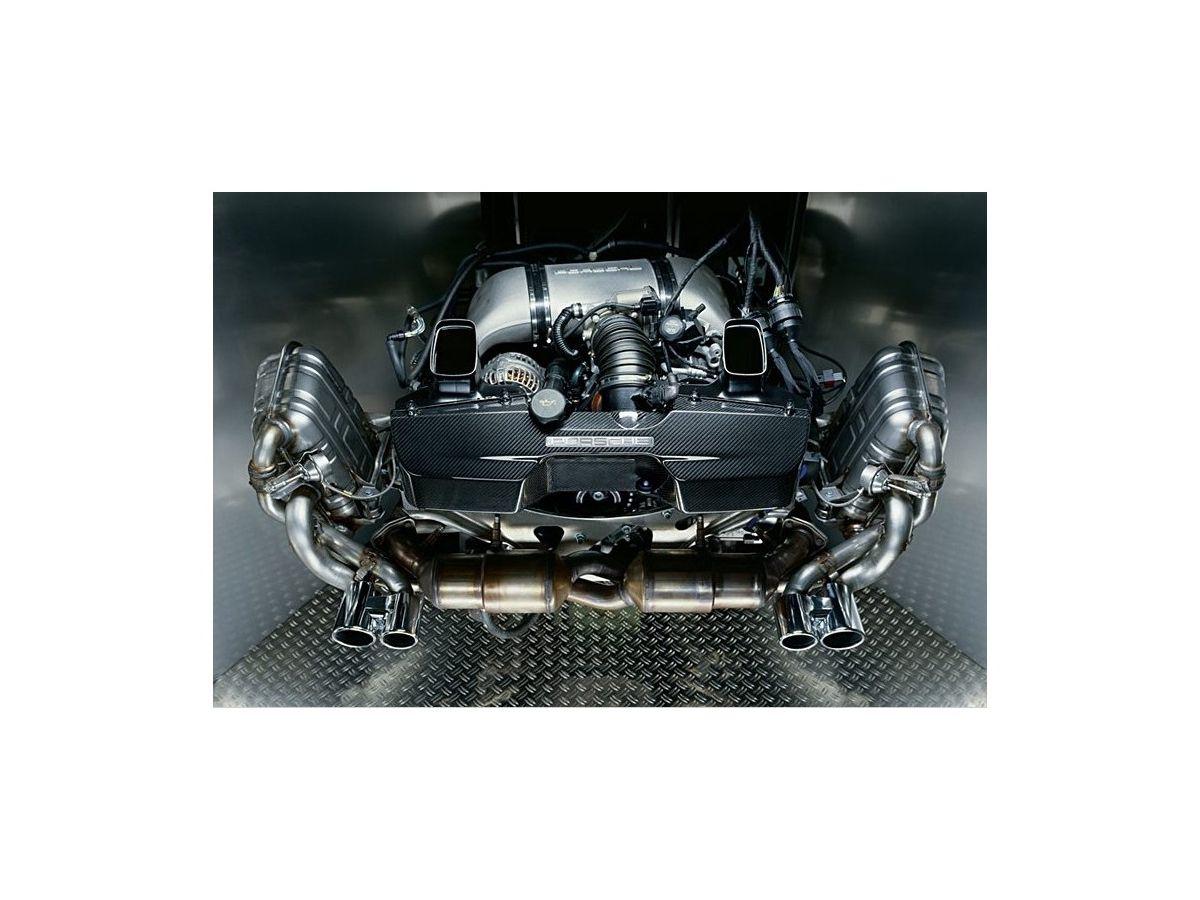 997.2 Carrera Sportauspuff Klappenauspuff original Porsche