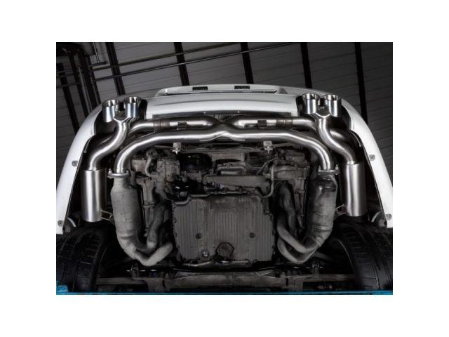 997.2 Carrera Porsche Auspuff System Edelstahl