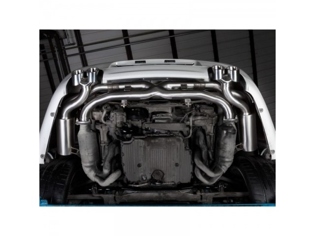 997.2 Carrera Porsche Exhaust System Stainless Steel