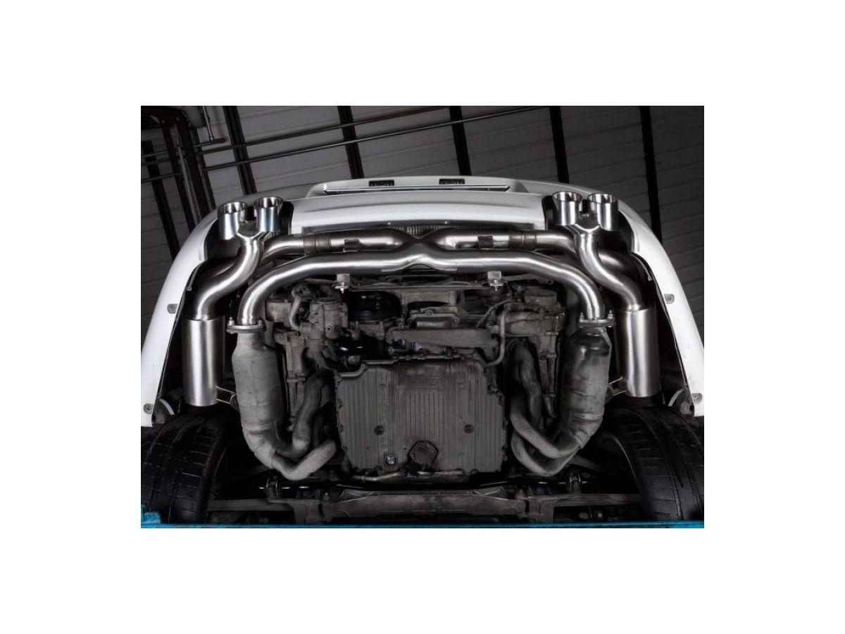 997.2 Carrera Porsche Exhaust System Stainless Steel