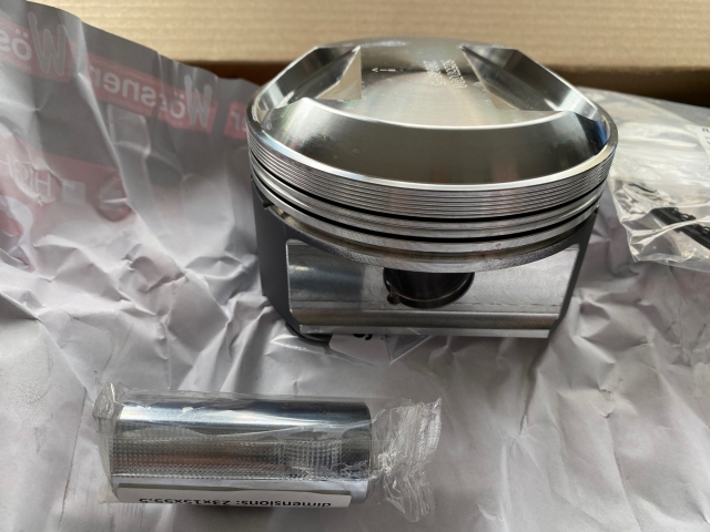 911 Carrera 3.2 liter high-performance piston pistons with rings for Porsche