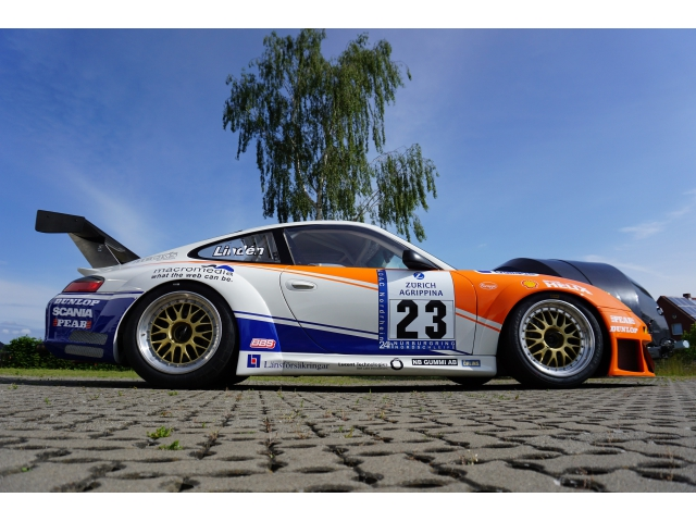 996 RSR - 2004 carbon side skirts for Porsche 911 racing cars