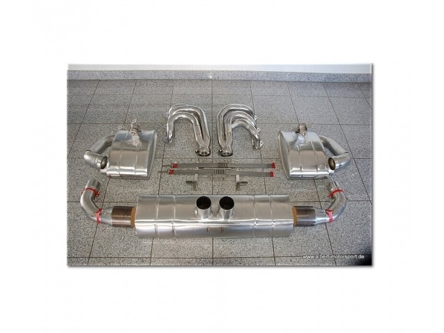 996 - 997 GT3 - RS - Cup Porsche racing sports exhaust stainless steel, the best