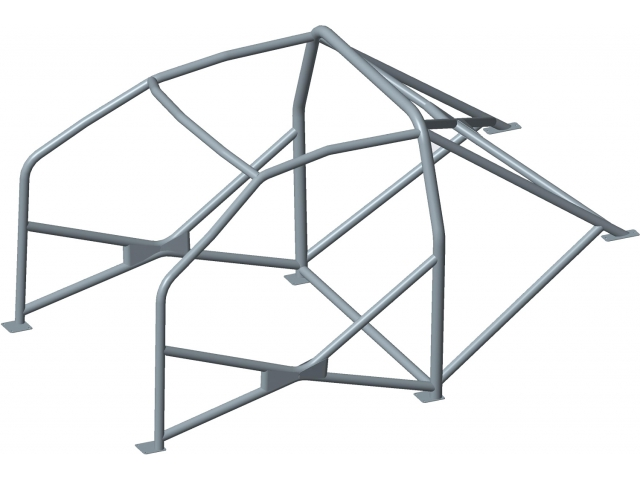 Cayman safety cell roll bar roll cage bar kit