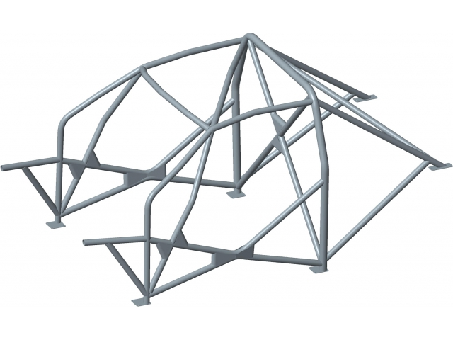 911 F roll bar, safety cell, roll cage cage, weld-in cell for Porsche 911 F models built in 1963 - 1973