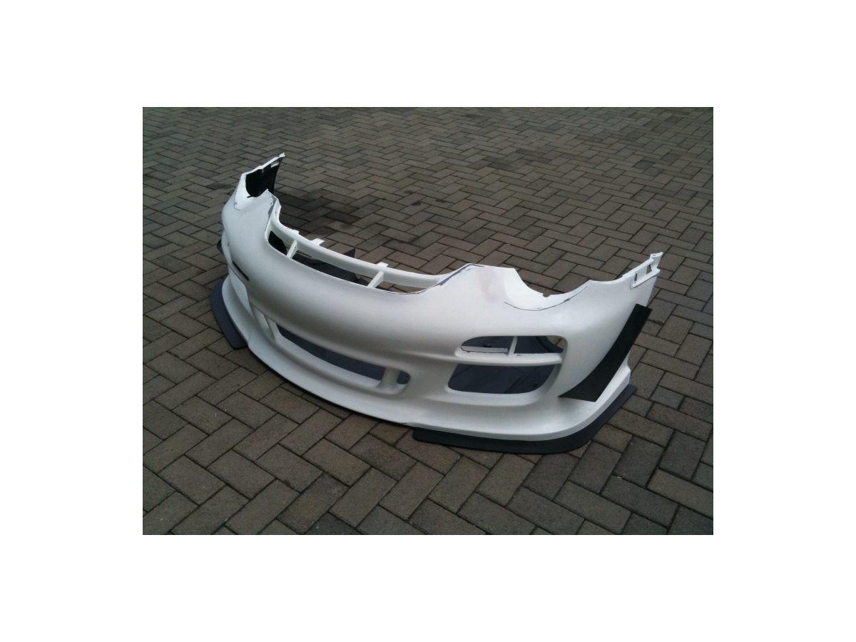 997.2 GT3 Cup Frontstange Stoßstange von Carbon mit Gelcoat