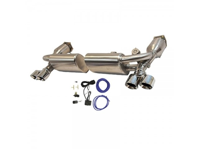 997.1 Turbo - GT2 Porsche Sport Exhaust - Valve system made of stainless steel