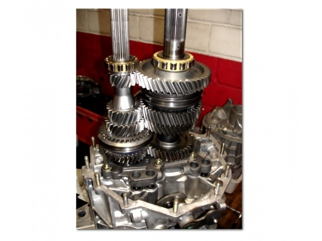 996 GT3 - 997 GT3 - GT3RS Transmission conversion Change of final ratio and 5th and 6th gear