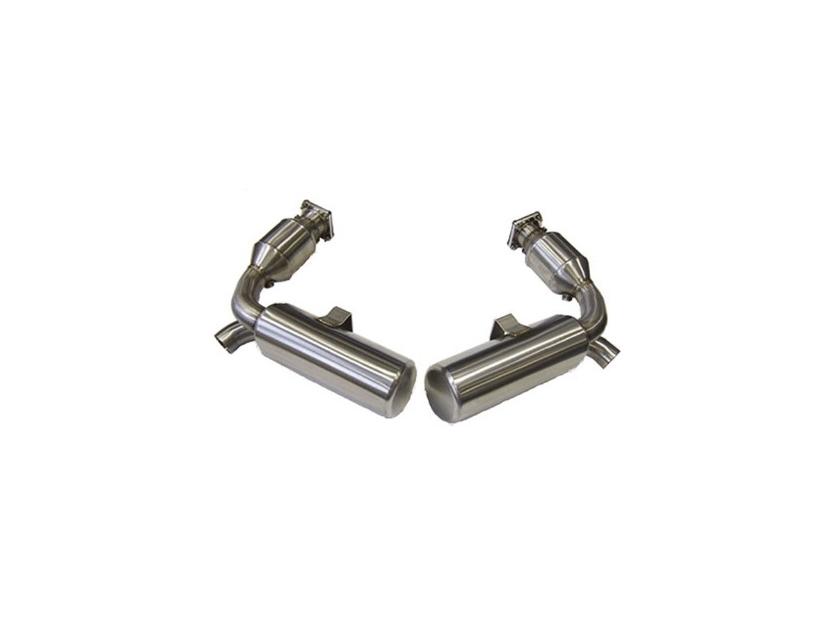 997 1 Turbo Gt2 Sports Exhaust System Stainless Steel For