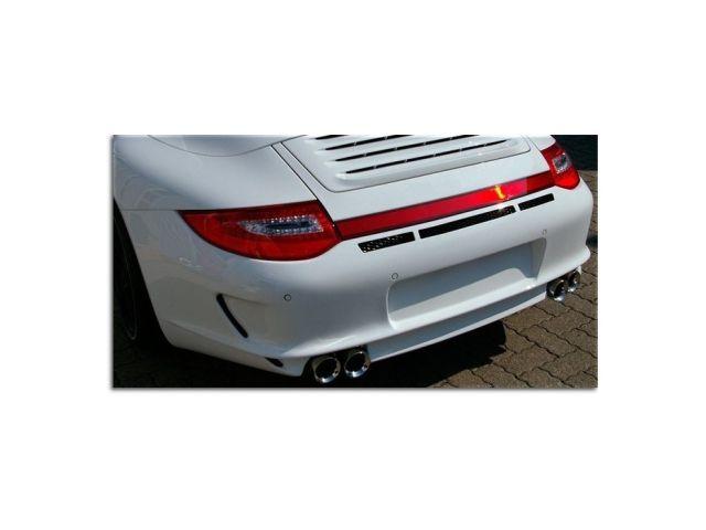 964 Porsche Carrera 3.6 Hauptschalldämpfer Edelstahl