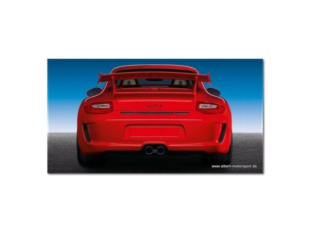 997 GT3 - 2010 Porsche rear facelift bumper