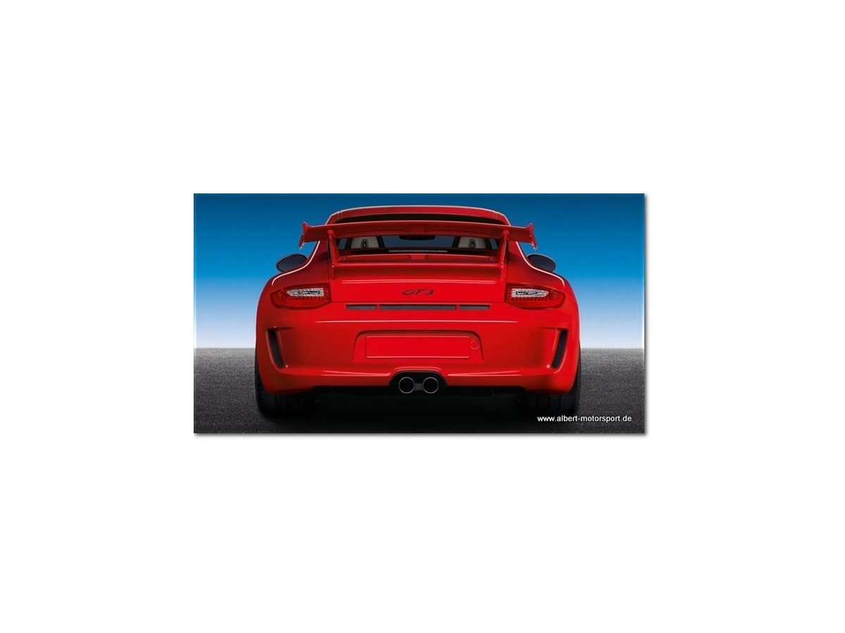 997 GT3 - 2010 Porsche Heck Facelift Stossstange