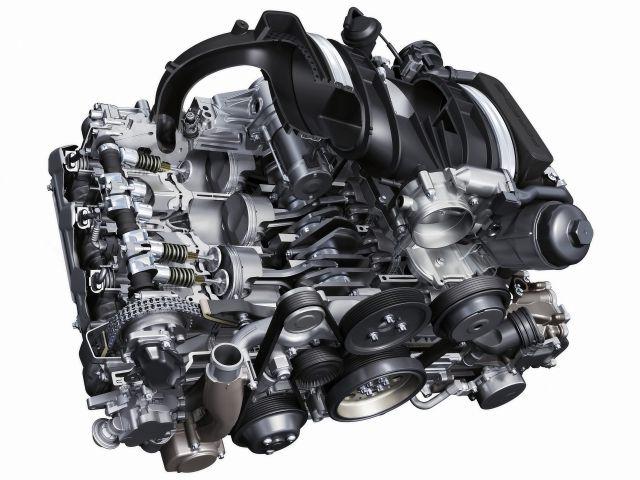 997 DFI Porsche Motorblock mit 3,8 liter Zylinder und Kolben im Austausch