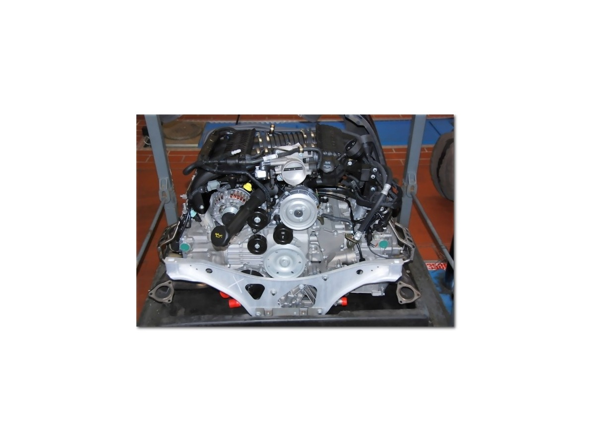 911 - 996 - 3.8 liter Porsche exchange engine, engine repair, engine damage repair